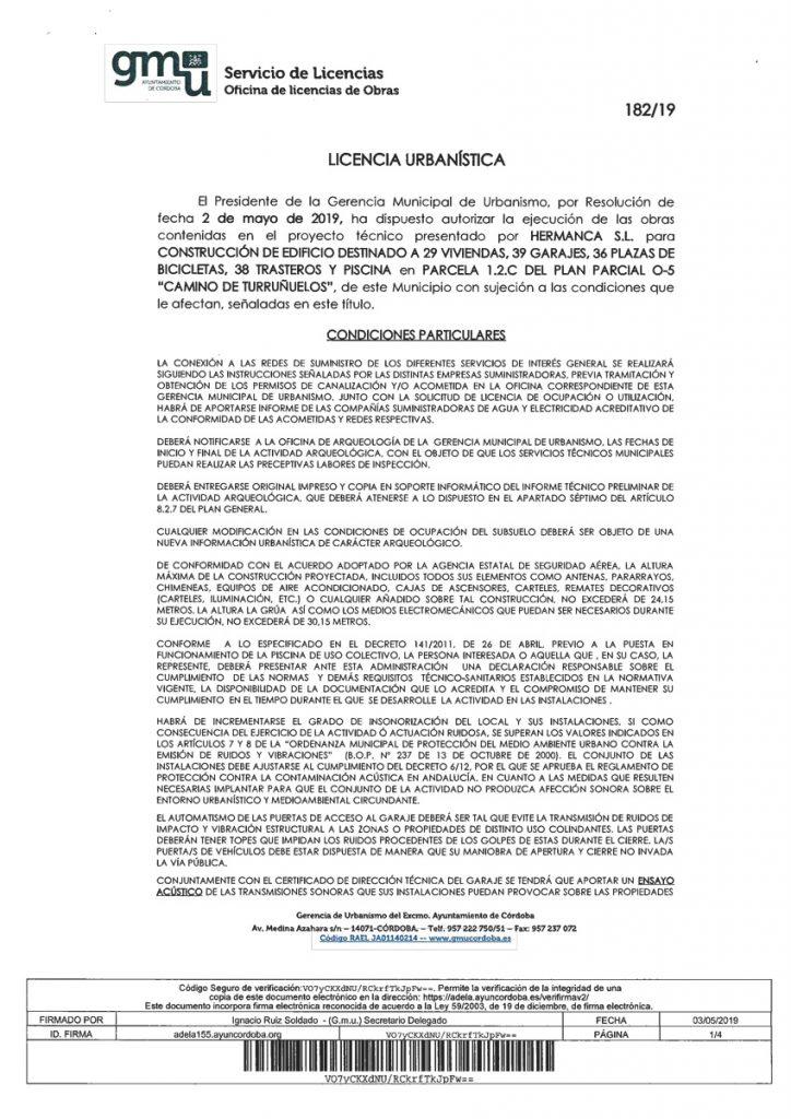 Licencia de Obras - Construcciones Mancebo